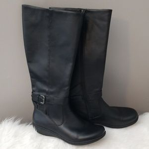 Clarks Knee High Boots 9